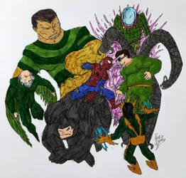 Spider - Man : 1v6 by BOSSTHITIWUT
