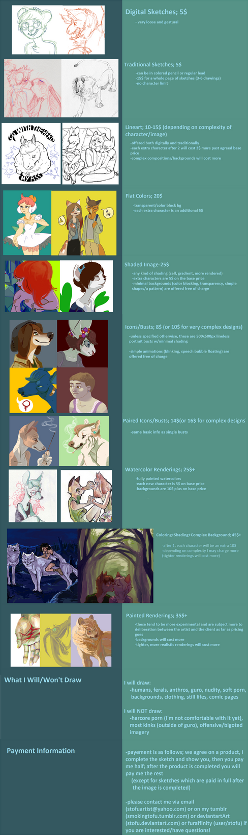 Commission Info by Stofu