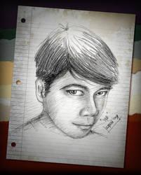 Self Portrait December '09 by deadPxl