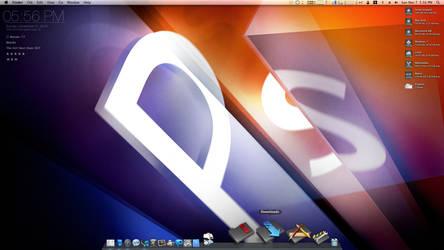 Adobe Photoshop CS5e Desktop by deadPxl