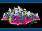 My Grafitti Art by deadPxl