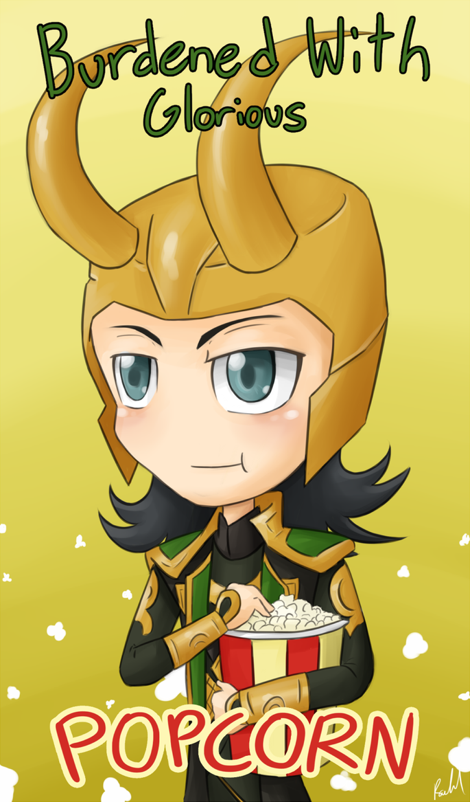 Popcorn by Phoenix-Featherx