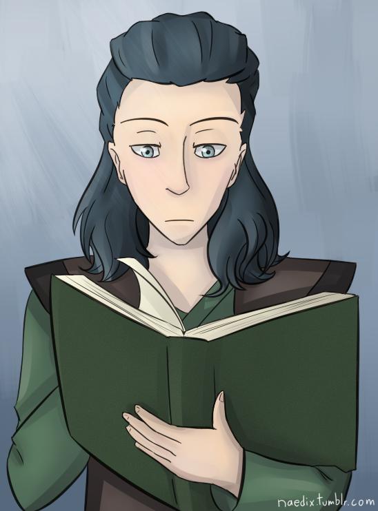 Reading by Phoenix-Featherx