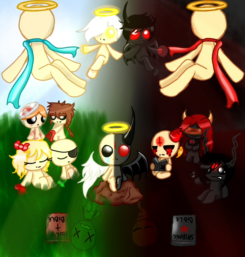 The Binding Of Isaac- Hell Or Heaven By Judas-Fez On