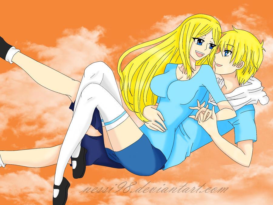 Finn y Fionna by nessi98