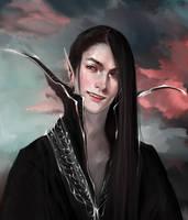 That cool seme type elf by BadArtMaKaMaTi