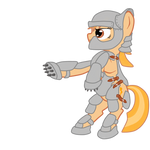 2ch-pony in the full armor