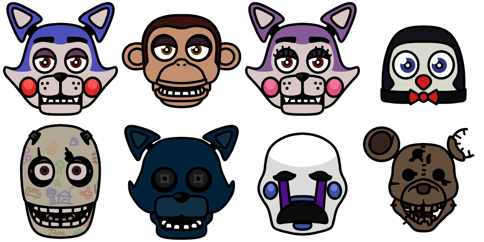 Five Nights at Candy's by What-The-Frog on DeviantArt