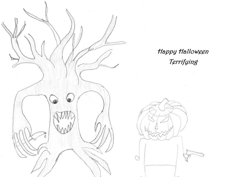 Happy Halloween Terrifying by Kyara007
