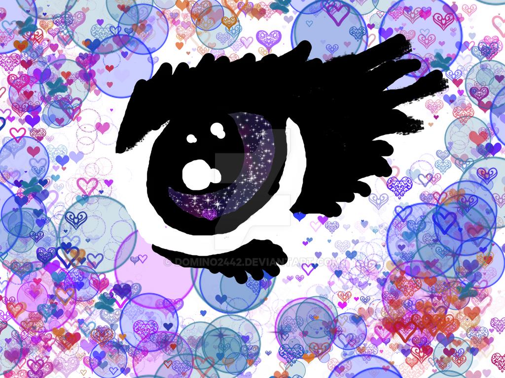 Random Arts 5 :Galaxy eye by Domino2442