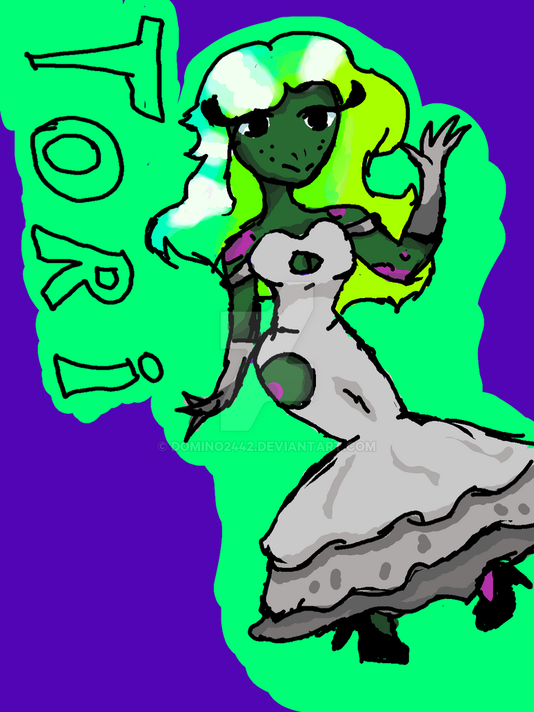 Random arts 6: Tori the turtle frog #FlyingPings by Domino2442