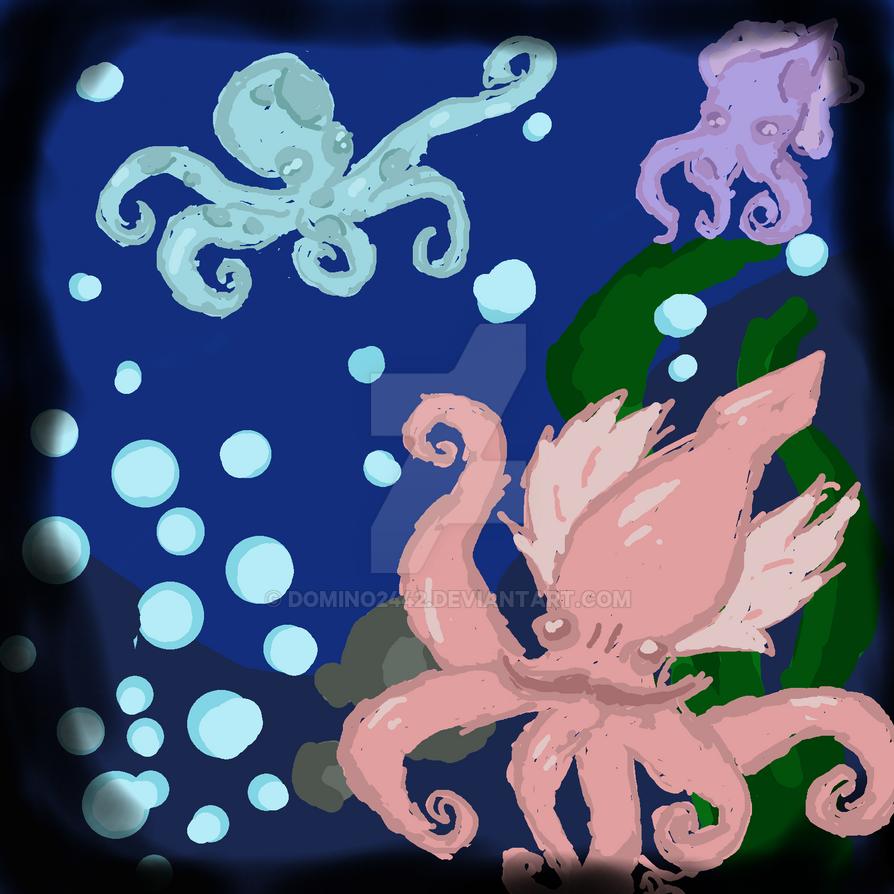 Random Art 7: Ocean by Domino2442