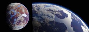 Procedural Planets - Alien Planet
