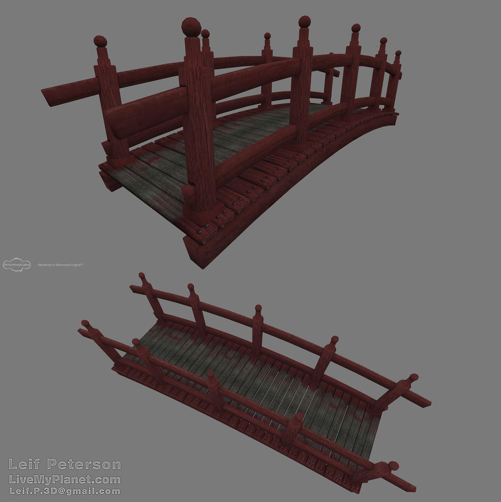 Minecraft Japanese Bridge japanese bridgethebothan on deviantart