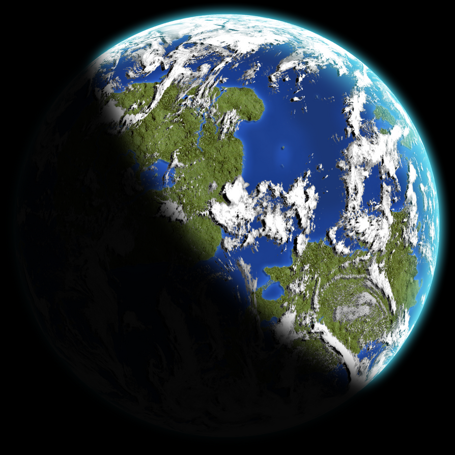 Terran Planet Test by samio85 on DeviantArt