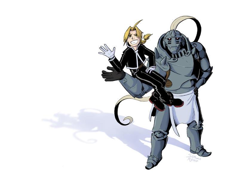 Fullmetal Alchemist by Etherstar