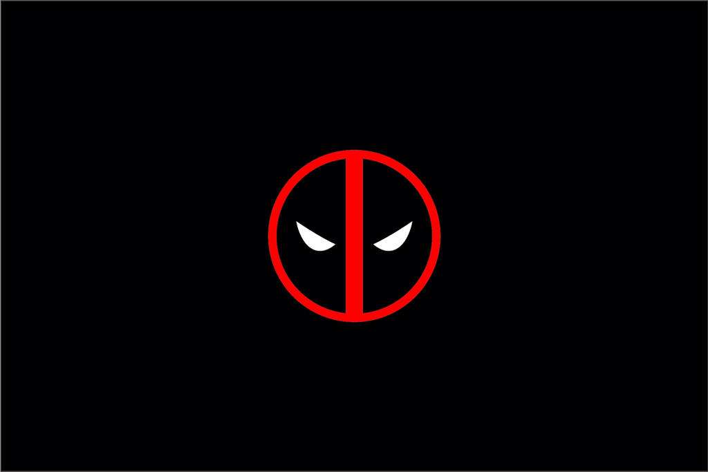Deadpool S Symbol Wallpaper By Vectoraerial On Deviantart