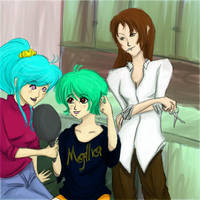 Makeover with the Ladies by OsaP