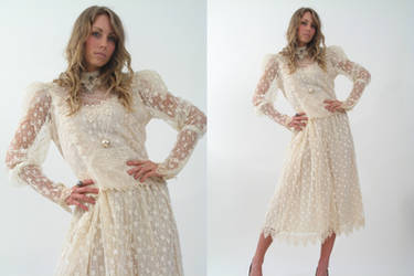 lace dress by CatDeLaLuna