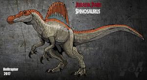 Jurassic Park: Spinosaurus (new art +info)