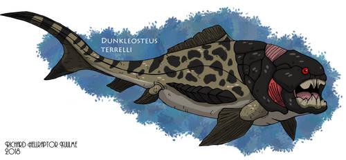 Dunkleosteus Terrelli by HellraptorStudios