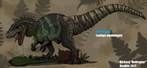 Retrosaurs: Laelaps aquilunguis ( Updated !) by HellraptorStudios