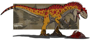 Big Al the Allosaurus by HellraptorStudios