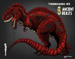 Vintage Tyrannosaurus rex
