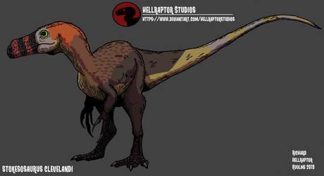 Stokesosaurus clevelandi by HellraptorStudios