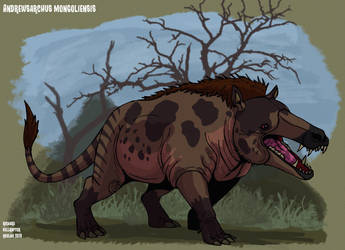 Andrewsarchus Mongoliensis updated look by HellraptorStudios