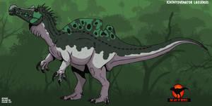 The Age of reptiles: Ichthyovenator laosensis