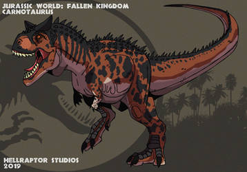 Jurassic World: Carnotaurus by HellraptorStudios