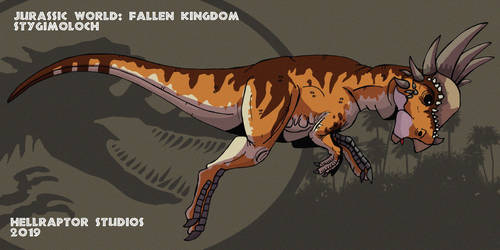 Jurassic World: Stygimoloch by HellraptorStudios