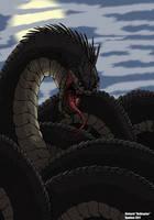 Jormungandr the world Serpent