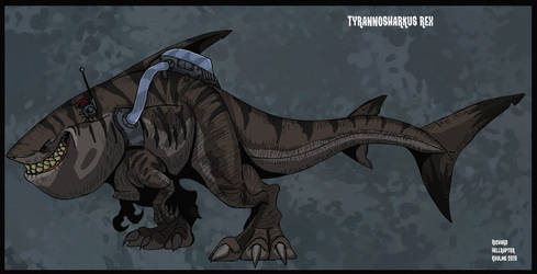 Tyrannosharkus Rex