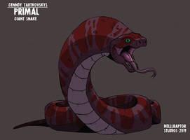 Genndy Tartakovskys Primal: Giant Snake