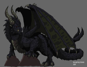 Dragons of Middle Earth: Ancalagon the Black