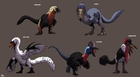 Dinofied Birds