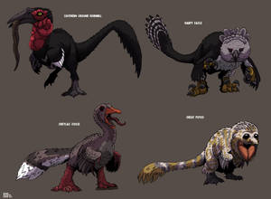 Dinofied Birds part 2