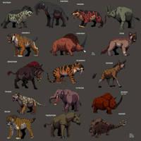 Prehistoric Mammals collection