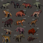 Prehistoric Mammals collection