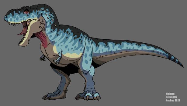 Blue Tyrannosaurus Rex