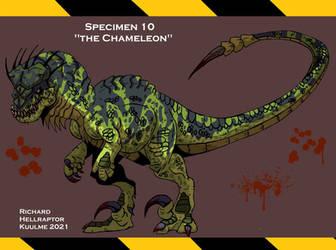 Specimen 10 : The Chameleon by HellraptorStudios