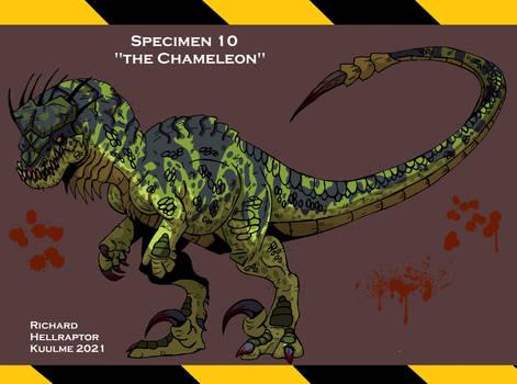 Specimen 10 : The Chameleon