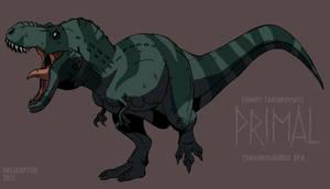 Primal: Tyrannosaurus Rex