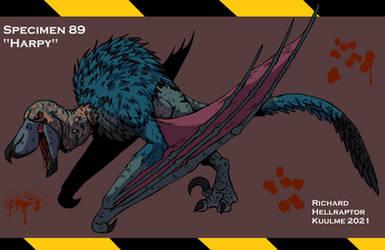 Specimen 89: Harpy