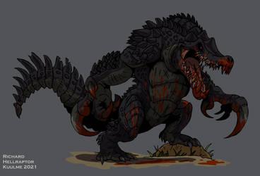 The Giant Murder Crocodile by HellraptorStudios
