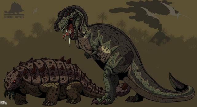 Terrible Reptiles: Tyrannosaurus on the hunt