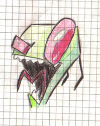 invader zim by dunkan3000