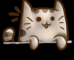 Pusheen the cat by juliamity